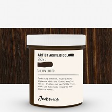 Jackson's : Artist Acrylic Paint : 250ml : Raw Umber