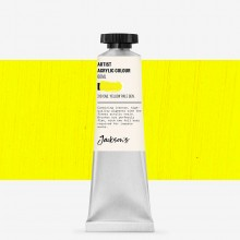 Jackson's : Artist Acrylic Paint : 60ml : Cadmium Yellow Pale Genuine