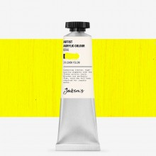Jackson's : Artist Acrylic Paint : 60ml : Lemon Yellow