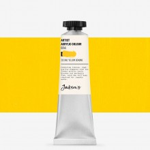 Jackson's : Artist Acrylic Paint : 60ml : Cadmium Yellow Genuine