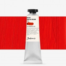 Jackson's : Artist Acrylic Paint : 60ml : Cadmium Red Hue