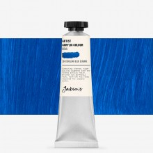 Jackson's : Artist Acrylic Paint : 60ml : Cerulean Blue Genuine
