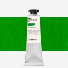 Jackson's : Artist Acrylic Paint : 60ml : Emerald Green