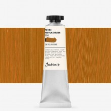 Jackson's : Artist Acrylic Paint : 60ml : Yellow Ochre
