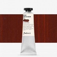 Jackson's : Artist Acrylic Paint : 60ml : Burnt Sienna