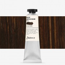 Jackson's : Artist Acrylic Paint : 60ml : Raw Umber