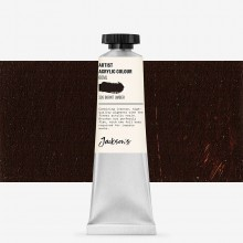 Jackson's : Artist Acrylic Paint : 60ml : Burnt Umber