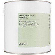 Jackson's : Thixotropic Alkyd Oil Primer : 2500ml : By Road Parcel Only