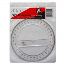 Jakar : Protractor 360° : 150mm
