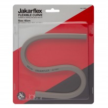 Jakarflex : Flexible Curve : 400mm : Grey