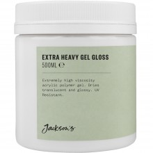 Jacksons : Acrylic Extra Heavy Gel Gloss Medium : 500ml