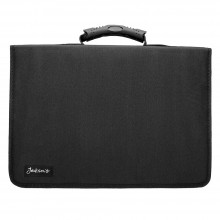 Jackson's : Black Nylon Pencil Case : Holds 120 Standard Pencils