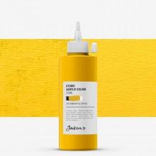 Jackson's : Studio Acrylic Paint : 200ml : Cadmium Yellow Hue