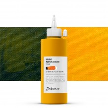 Jackson's : Studio Acrylic Paint : 200ml : Diarylide Yellow (Indian)