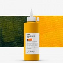 Jackson's : Studio Acrylic Paint : 200ml : Diarylide Yellow (Indian)