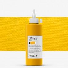 Jackson's : Studio Acrylic Paint : 200ml : Cadmium Yellow Deep Hue