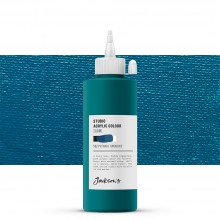Jackson's : Studio Acrylic Paint : 200ml : Phthalo Turquoise