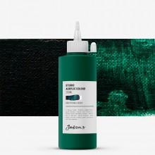 Jackson's : Studio Acrylic Paint : 200ml : Phthalo Green