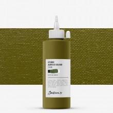 Jackson's : Studio Acrylic Paint : 200ml : Olive Green