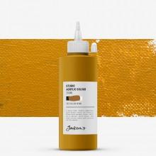 Jackson's : Studio Acrylic Paint : 200ml : Yellow Ochre