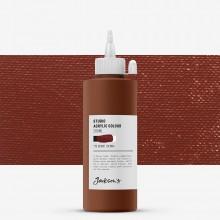 Jackson's : Studio Acrylic Paint : 200ml : Burnt Sienna