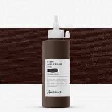 Jackson's : Studio Acrylic Paint : 200ml : Burnt Umber