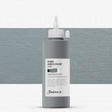 Jackson's : Studio Acrylic Paint : 200ml : Medium Grey Warm