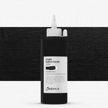 Jackson's : Studio Acrylic Paint : 200ml : Mars Black