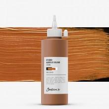 Jackson's : Studio Acrylic Paint : 200ml : Copper