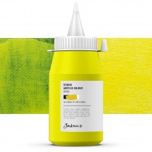 Jackson's : Studio Acrylic Paint : 500ml : Hansa Yellow (Lemon)