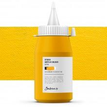 Jackson's : Studio Acrylic Paint : 500ml : Cadmium Yellow Deep Hue
