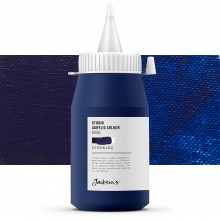 Jackson's : Studio Acrylic Paint : 500ml : Phthalo Blue