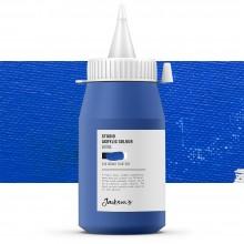 Jackson's : Studio Acrylic Paint : 500ml : Cobalt Blue Hue
