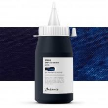 Jackson's : Studio Acrylic Paint : 500ml : Prussian Blue (Phthalo)