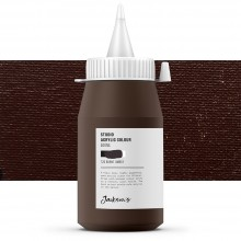 Jackson's : Studio Acrylic Paint : 500ml : Burnt Umber