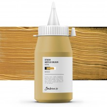 Jackson's : Studio Acrylic Paint : 500ml : Gold