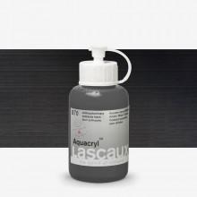 Lascaux : Aquacryl : Artists' Watercolour Paint : 85ml : Antracite Black