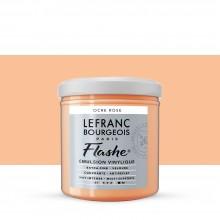 Lefranc & Bourgeois : Flashe : Vinyl Emulsion Paint : 125ml : Pink Ochre (817)
