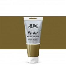 Lefranc & Bourgeois : Flashe : Vinyl Emulsion Paint : 80ml : Bronze Iridescent (837)