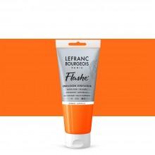 Lefranc & Bourgeois : Flashe : Vinyl Emulsion Paint : 80ml : Japanese Orange (476)