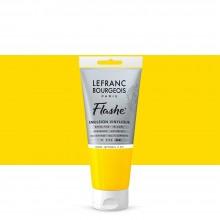 Lefranc & Bourgeois : Flashe : Vinyl Emulsion Paint : 80ml : Japanese Yellow Light (183)
