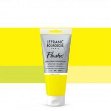 Lefranc & Bourgeois : Flashe : Vinyl Emulsion Paint : 80ml : Lemon Yellow (169)