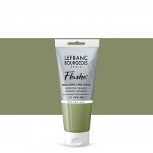 Lefranc & Bourgeois : Flashe : Vinyl Emulsion Paint : 80ml : Light Green Earth (880)