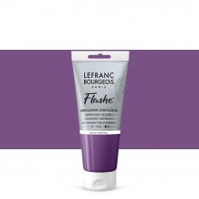 Lefranc & Bourgeois : Flashe : Vinyl Emulsion Paint : 80ml : Mineral Violet (826)