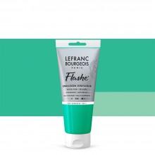 Lefranc & Bourgeois : Flashe : Vinyl Emulsion Paint : 80ml : Veronese Green Hue (549)