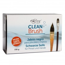 Leonard : Clean Brush : Black Soap : For Brushes and Hands : 150g