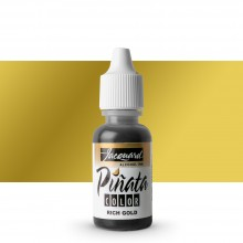 Jacquard : Piñata : Alcohol Ink : 0.5oz (14ml) : Rich Gold 032 : Ship By Road Only
