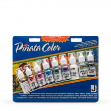Jacquard : Piñata : Alcohol Ink : 0.5oz (14ml) : Exciter Set of 9 : Ship By Road Only