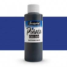 Jacquard : Piñata : Alcohol Ink : 4oz (118ml) : Sapphire Blue 017 : Ship By Road Only