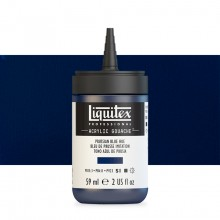 Liquitex : Professional : Acrylic Gouache : 59ml : Prussian Blue Hue